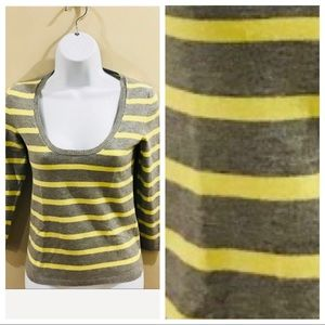 THEORY | Striped Sweater